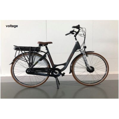 dutchebike voltage,zwart, 468 Wh accu
