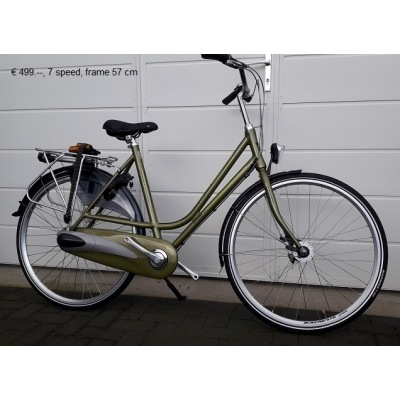 Faillissement, batavus dames fiets , 3 speed