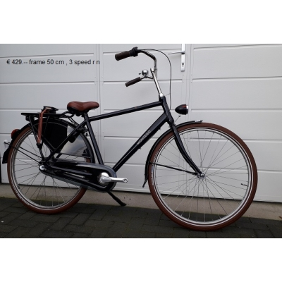 Faillissement, heren fiets, 3 speed