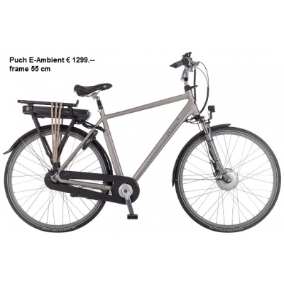 Puch E- Ambient heren, 400 Wh accu